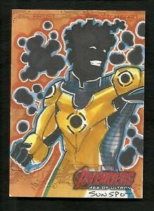 2015 Avengers Age of Ultron 1/1 Artist Sketch SUNSPOT by Mike Thomas