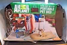 """New Animal Planet Ultra - Soft 20"""" x 27"""" Portable Pet Bed 2010"""