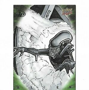 Alien Artist Sketch Card Proof by Fournier Upper Deck 2017