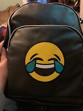 Olivia miller Faux Leather Emoji Backpack