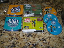 The Sims Vacation & The Sims Unleashed (PC Games) Expansions with keys