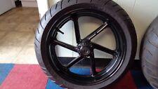 Honda CBRR Wheels Fresh Black Powder Coat 3.50x16 & 5.50 x 17