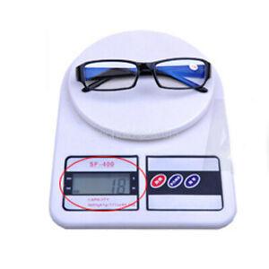 Near Sight Glasses -1.00 1.50 to 6.00 Anti Blue Light Lens Black Plastic Eyewear