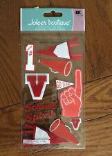 Jolee's Boutique Red School Spirit Dimensional Stickers