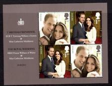 2011 GB THE ROYAL WEDDING Miniature Sheet Prince William Kate MS3270 MNH UMM