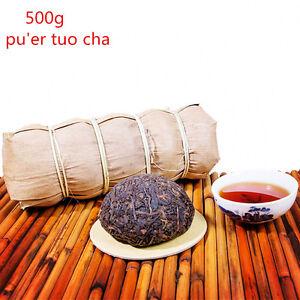 5pcs Ripe Puerh Tea Yunnan Pu Erh Tea 500g Organic Black Tea Top Healthy Drink