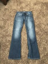 Woman's Silver 'Tuesday' jeans sz 27x32. Great condition!