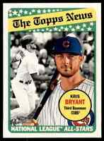 2018 TOPPS HERITAGE KRIS BRYANT CHICAGO CUBS #362