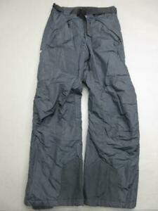 Columbia Size S Mens Black Insulated Waterproof Outdoor Ski Snow Pants T031