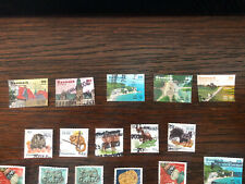 Denmark 2017-2020 - lot inc many high value stamps off paper And Without Gum!