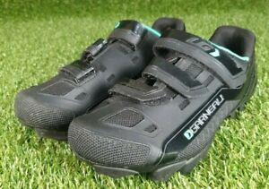 Women's Louis Garneau Sapphire MTB Cycling Shoes HRS-80 Size EU39 UK4.5