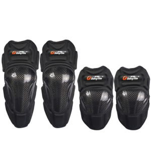 Motorcycle Knee Protector For Racing Riding With Elbow Protectors CF Shield