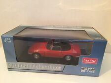 1/18 Sunstar 4051 - 1966 Lotus Elan S3 Open Convertible - Red