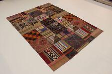 nomades patchwork délavé look antique PERSAN TAPIS tapis d'Orient 3,00 x 2,12