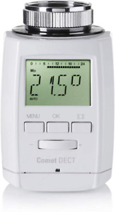 Eurotronic Comet DECT Heizkörperthermostat Wifi-Heizungsthermostat Smart Home