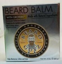 Beard Guyz Beard Balm with Grotein 3oz Made w/ Natural Ingredients Helps soften