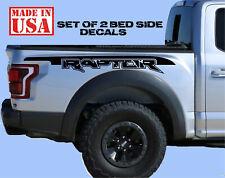 FORD RAPTOR Truck Side Bed Lettering Decals Vinyl Graphic Sticker 2017-2019