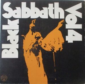 BLACK SABBATH - VOL 4 ~ GATEFOLD VINYL LP + BOOKLET