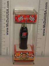 """Coke Coca-Cola McDonald's Mini Miniature 3.5"""" Soda Bottle Bobby Labonte #18 1999"""