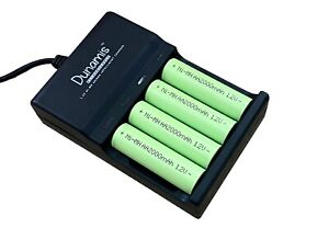 Dunamis AA & AAA HIGH CAPACITY Ni-MH 1.2v Rechargeable Batteries and USB Charger
