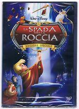 LA SPADA NELLA ROCCIA 45° ANNIVERSARIO DVD DISNEY SIGILLATO!!!