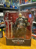 "McFarlane The Witcher  Geralt of Rivia  12"" Deluxe Figure  Witcher 3 Wild Hunt"