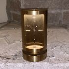 Rare Dunhill Swiss Made Gold 8-Day Alarm Clock Watch Vintage Heavy Paperweight