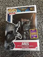 FUNKO POP ARES 2017 SUMMER CONVENTION EXCLUSIVE SALE HEROES WONDER WOMAN #197