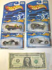 Skull & Crossbones Complete Series Set Hot Wheels Die Cast Cars - Lot of 4