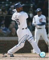 Derrek Lee Chicago Cubs Autographed 8x10 Baseball Photo
