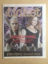 THE LORD OF THE RINGS  The Ticket Souvenir Special December 6 - 12, 2002