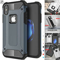 Case Cover For iPhone XS,XS MAX,XR Armor Protective Luxury Shockproof Dual-layer
