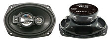 "NEW LANZAR MX694 Max Series 6x9"" 680 Watts 4 Way Quadaxial Car Speakers (Pair)"