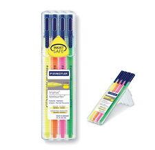 BIGSALE STAEDTLER Triplus Textsurfer 4Colors SET Fluorescent Pens Highlighter