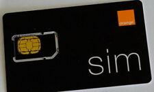 Orange Romania prepaid sim card with RO number GSM international roaming 4G