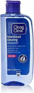 Clean & Clear Blackhead Clearing Oil Free  Cleanser 200ml