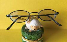 New Kids CALLIOPE Collection Eyeglasses Metallic Blue Prescription Frames w Case