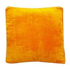 "Dekorative Kissen Cover Orange Indian Home Decor Throw Pillow Case samt 18"""