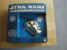 STAR WARS C3PO GOLD COLLECTABLE COMPUTER MOUSE, BNIB, serial and ps/2 dual integ