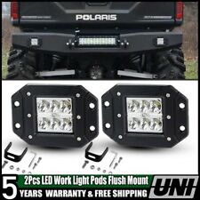 "2X5"" 18W Spot Beam LED Work Light Bar Offroad Driving Lamp UTE ATV 12V-24V Dossy"