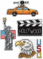 USA Magnets Cross Stitch Kit