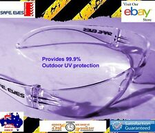 12x pairs Safe Eyes  Safety Glasses Clear lens ideal for Medical use