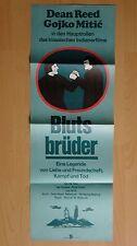 (D11) DDR-Kinoplakat 29x80 cm Gojko Mitic BLUTSBRÜDER Dean Reed