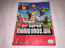 New Super Mario Bros (Premier Edition Game Guide: Nintendo Wii) No Poster, Nice!