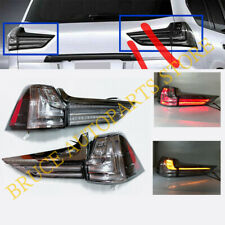 Black LED Taillights Rear Lamps Assembly Set of 4Pcs For Lexus LX570 2016-2019
