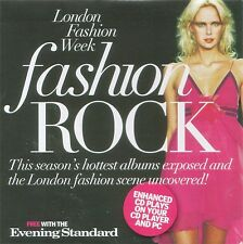 London Fashion Week - Fashion Rock - Enhanced CD Given With Evening Standard