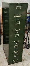 New listing Steelmaster Five-drawer- Full-suspension File Cabinet - Green