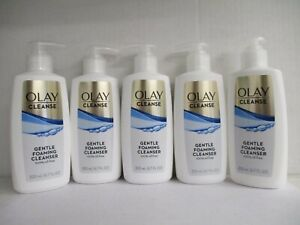 5 OLAY CLEANSE GENTLE FOAMING CLEANSER 6.7 FL OZ EACH  EXP: 3/22 GW 2701