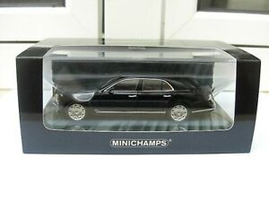Bentley Mulsanne 2010 Minichamps 436139900 MIB 1:43 rolls royce jaguar daimler