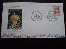 DANEMARK - enveloppe 16/11/1978 (champignon) (B10) denmark
